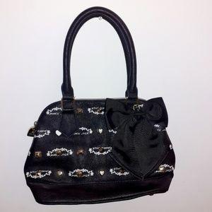 🆕️ NWOT Betsey Johnson Signature Logo Studded Bag